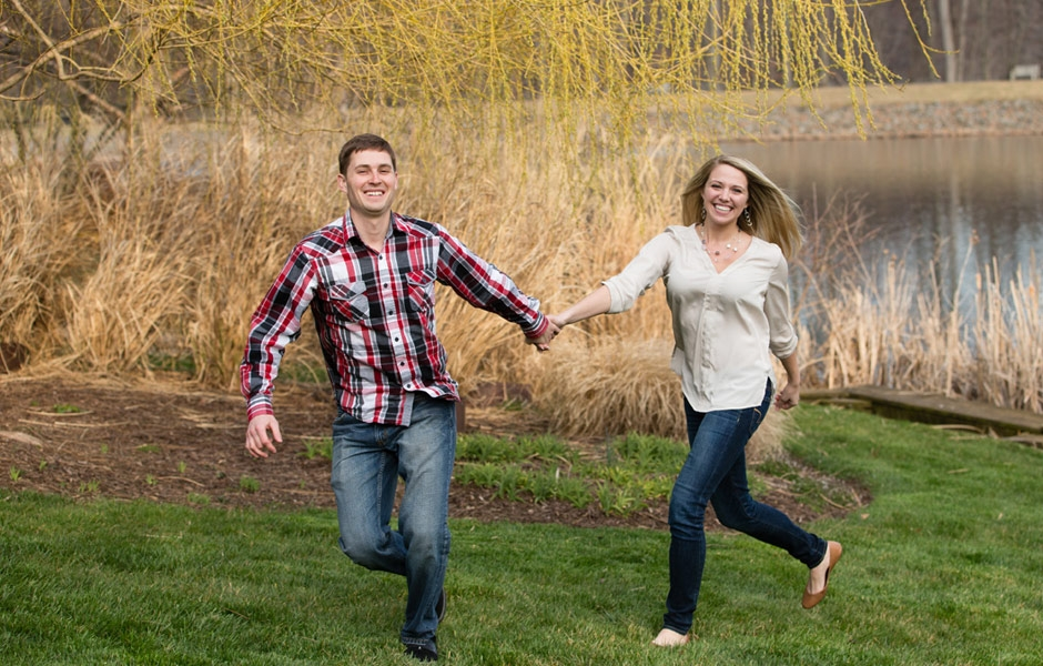 This happy couple shares their decision to get married with Northern Virginia Engagement Photographer Anne Lord