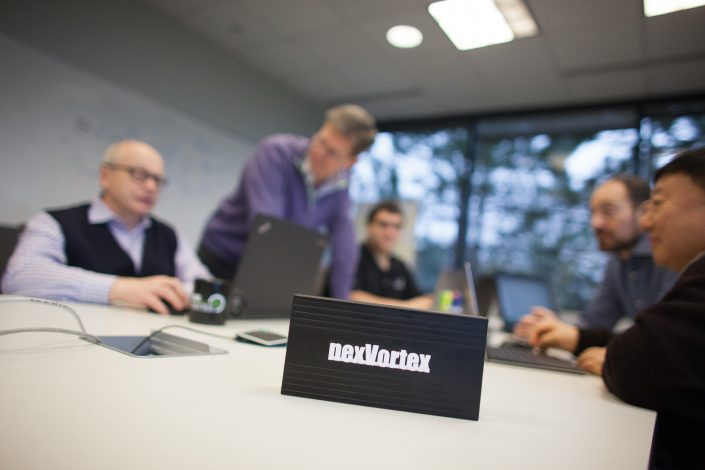 corporate meeting about nexVortex | Anne Lord Photography